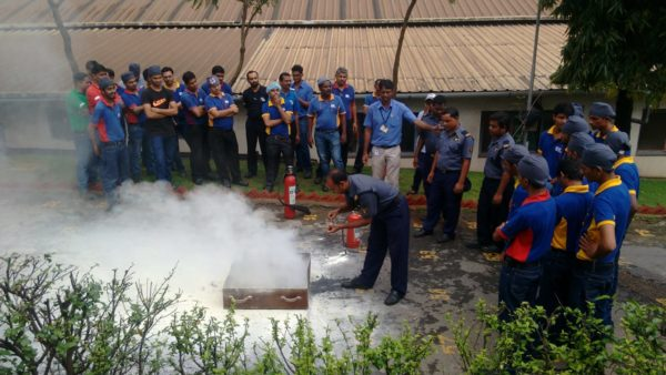 FIRE FIGHTING TRAINING AT CLIENT SITE