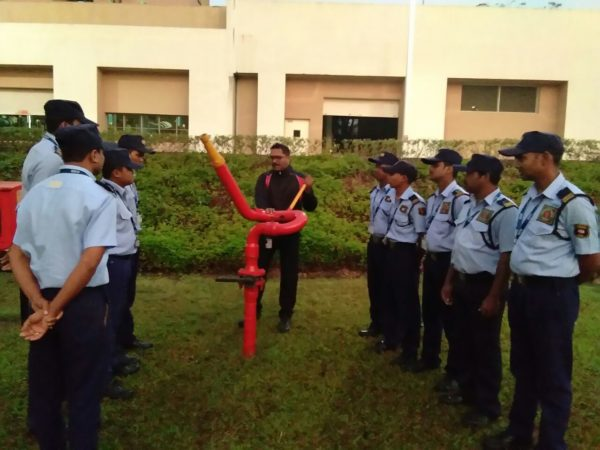 FIRE HYDRANT SYSTEM OPERATION DEMO
